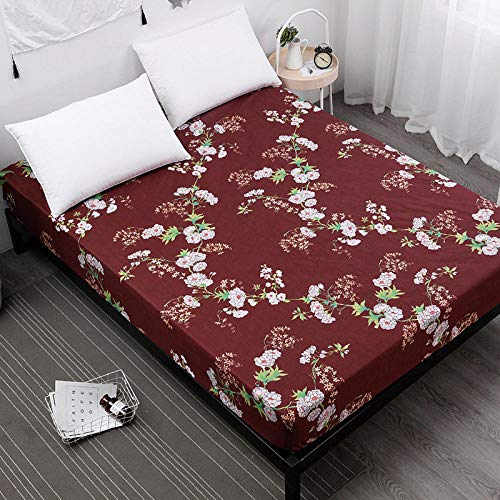 GTWOZNB Premium Microfibre Fitted Waterproof bed sheet cartoon print-19_183X190cm_
