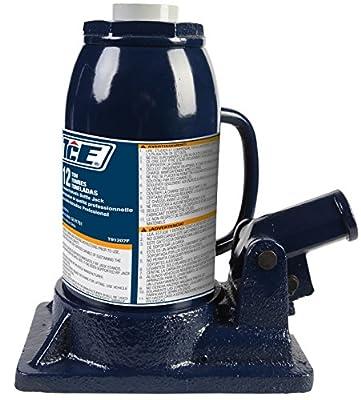 TCE TCE91207 12 Ton Professional Bottle Jack, 1 Pack