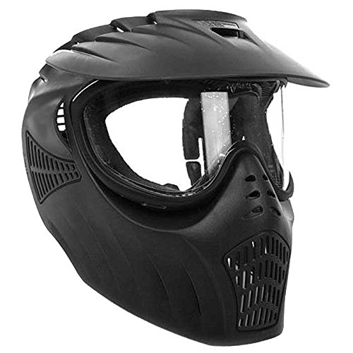 Empire Paintball X-Ray Single Lens Goggle, Black