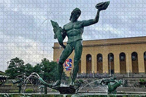 500-piece Jigsaw PuzzlesPoseidon Göteborg, SverigeVuxenpusselleksakFör Vuxna Och Barn Födelsedagspresent -52x38cm