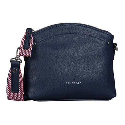 Tom Tailor Delia Cross Bag S Sac pour femme - Bleu - bleu foncé, Small