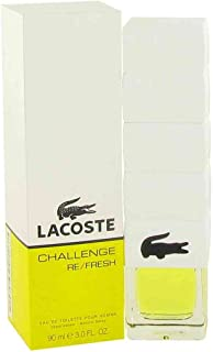 Challenge Re Fresh by Lacoste for Men - 90 ml