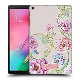 Head Case Designs Officiel Turnowsky Lacet Floral Essence de Fleur Coque Dure pour l'arrière Compatible avec Samsung Galaxy Tab A 10.1 (2019)