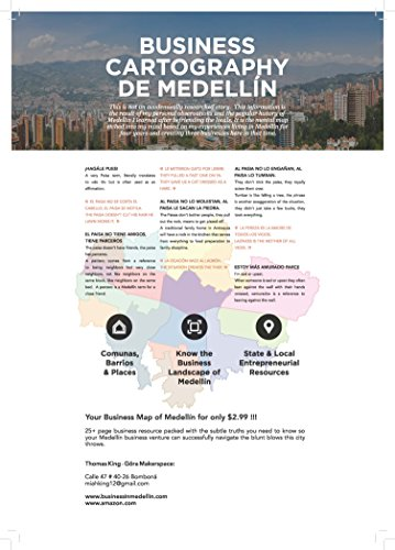 Business Cartography de Medellín: You tell the taxi where to go, we tell you where the taxi CAN go. (English Edition)