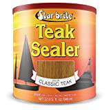 Star brite Teak Sealer - No Drip, Splatter-Free Formula - One Coat Coverage for All Fine Woods , Classic - 88016