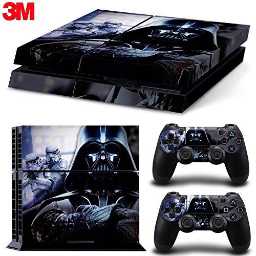 Price comparison product image ZOOMHITSKINS Ps4 Playstation 4 Console Skin Decal Sticker Star Wars Darth Vader Battlefront + 2 Controller Skins Set