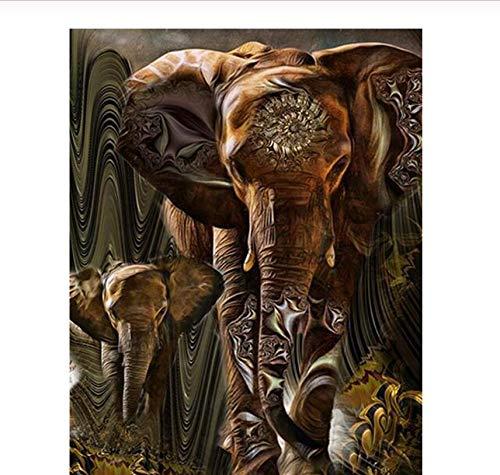 Puzzle 1000 Pezzi Elefante Etnico Giochi Educativi Per Bambini Di Intrattenimento Per Adulti