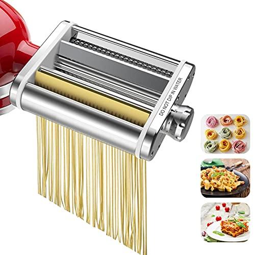 Set 3 in 1 per frullatore Aid. Include rullo per pasta e taglierino, taglierino per pasta e taglierino