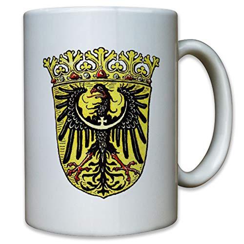 Provinz Niederschlesien Schlesien Adler Wappen Deutschland Polen - Tasse #9511