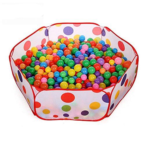 Noband JSFGFSDH 50 bolas de juguete multicolor para bebés y niños, redondas, de plástico suave, 5,5 cm