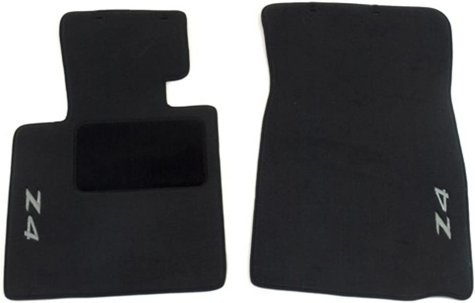 High quality BMW Carpet Floor Mats Z4 - Coupe Roadster 2002-2008 Black Oklahoma City Mall