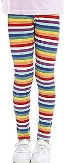 Fitcat Girls Pants Floral Print Toddler Kids Classic Leggings Tights