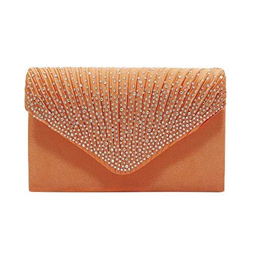 TEYUN Diamant-Umschlagtasche, europäischer und amerikanischer Stil, für Jahrestreffen, Abendessen, Brauttasche (Farbe: 10)