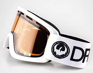 c7e4e6aeaa47 Dragon Lil D White Amber kids 5-12 yr junior ski snowboard goggles New