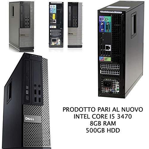 DELL 7010 SFF Intel Core i5 3470 3.20Ghz/RAM 8GB/ 500GB/DVD+RW Windows 10 Upgrade (Reacondicionado Certificado)