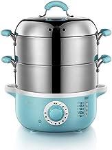 DYB Cuiseur à Vapeur électrique Multifonctionnel de ménage Mise Hors Tension Automatique épaissie Vapeur de Nourriture d'a...
