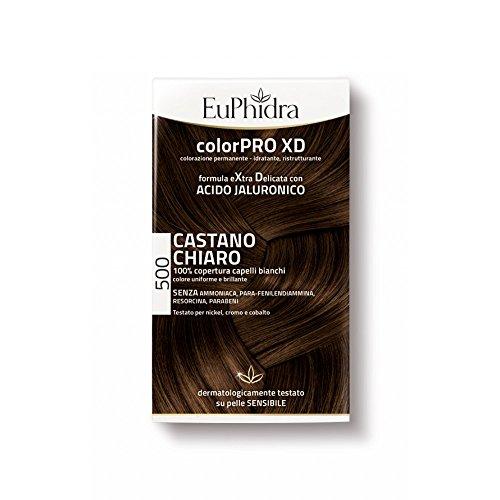 Zeta Farmaceutici Euphidra Colorpro Tintura Extradelicata 500, Castano Chiaro - 50 ml