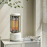Calefactor Electrico Portatil, Calentador de Pie, 2 Niveles de...