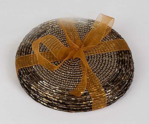 Formano Untersetzer, 6-teiliges Set, 10 cm, Gold
