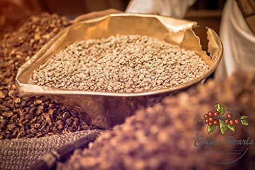 Haraaz Green Coffee AA | Premium-Rohkaffee 100% Arabica | Speciality Coffee | Ganze Bohnen | Grüner Kaffee aus dem Jemen | Rohkaffeebohnen zum rösten (350)