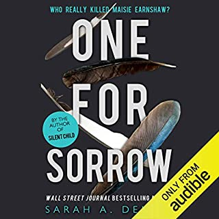 One for Sorrow audiobook cover art