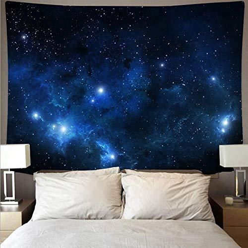 Geheimnisvolles Universum Sternenhimmel Weltraum Galaxie große Kunst Tapisserie psychedelische Wandbehang Strandtuch dünn leer A3 200x180cm