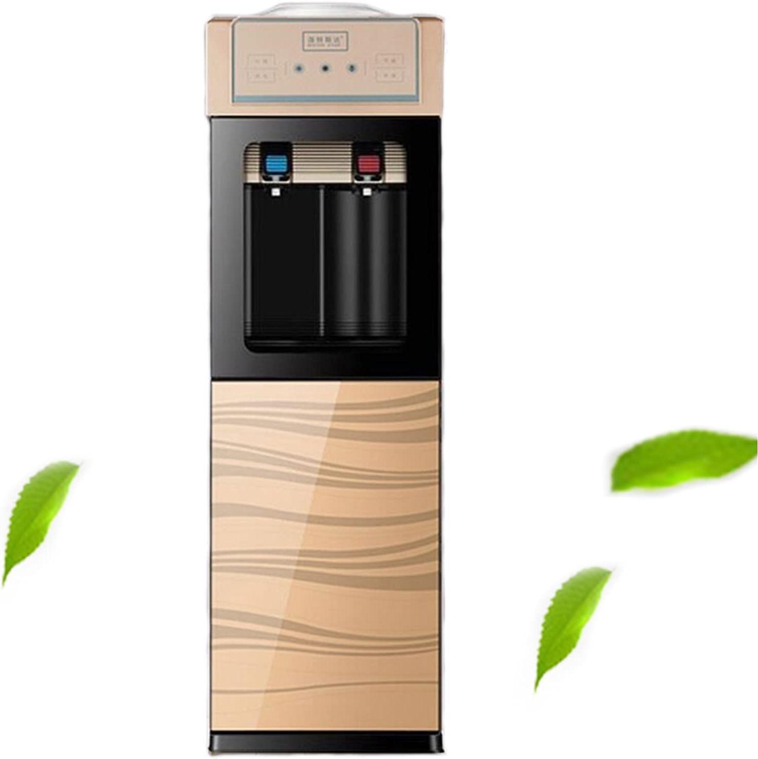 Dispensador de Agua para Garrafas, Electrico Enfriador de Agua Carga Superior Refrigeración electrónica Independiente Ideal para Oficina y hogar