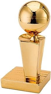 Trophies Trophy NBA Champion Trophy Basketball Souvenir Kobe Warrior Curry Model Trophy Desktop Decoration (Color : Gold, Size : 602020cm)