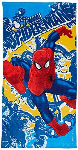Niños Euroswan - Toalla Spiderman Azul 70 x 140 cm