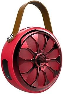 MINGTAI S11 Mini Bluetooth Speaker, Multimedia Audio Speaker, Computer Speaker - Army Green (Color : Red)