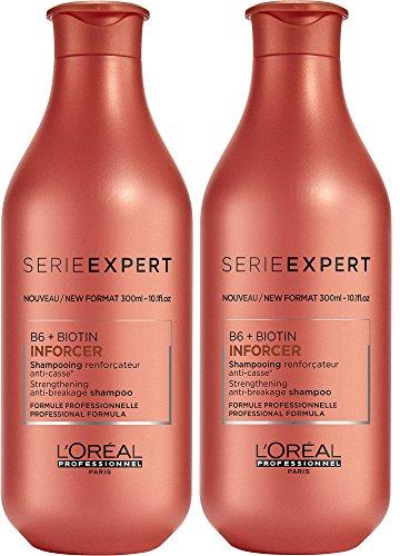 Loreal 2 er Pack Loreal Serie Expert Inforcer Shampoo 300 ml