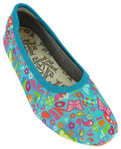 Beck Spring, Zapatillas de Gimnasia para Niñas, Multicolor (Multicolor 50), 35 EU