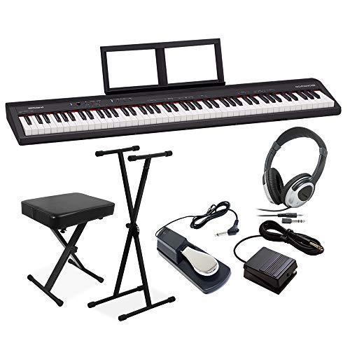 Roland GO-88P セミウェイト 88鍵盤 Xスタンド・Xイス・ダンパーペダル・ヘッドホンセット ローランド