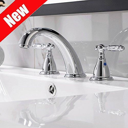 Compare Price To Chrome Bathroom Faucet Widespread