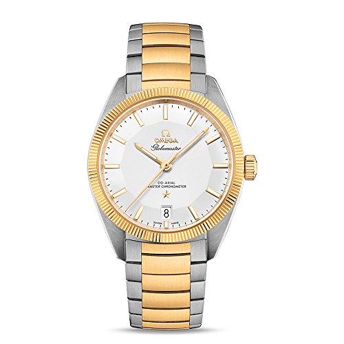 Omega Constellation Globemaster reloj automático de acero para hombre y oro amarillo de 18 quilates 130.20.39.21.02.001