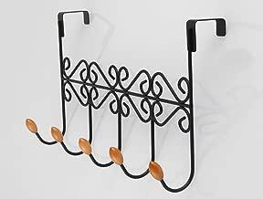 HDUFGJ T/ürhaken T/ürgarderobenhaken ohne Bohren T/ürgarderobe 7 Haken Rostfreier Stahl f/ür Badezimmer Flur und Schlafzimmer Kleiderhaken