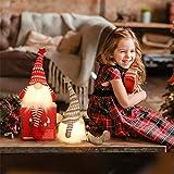 MTaoyac Weihnachten Deko Wichtel 49 cm Hoch, Schwedischen Weihnachtsmann Santa Tomte Gnom, Festliche Verpackung, Skandinavischer Zwerg Geschenke für Kinder Familie Weihnachten Freunde(2 Stücke) - 3