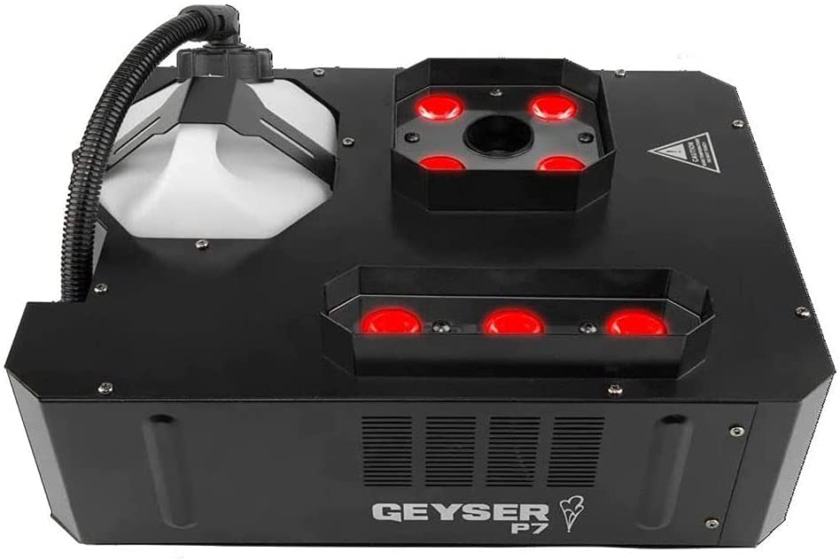 Chauvet DJ Courier shipping free shipping Geyser P7 7-LED RGBA+UV with Machine 2021 Fog 1 Vertical Y