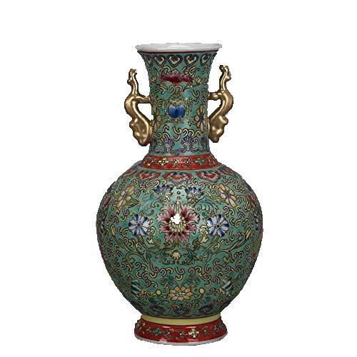 ZHIBO Amphora Handgefertigte Porzellanvase Antik Sammlerstücke Ornamente