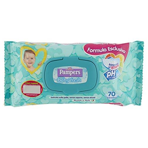 Pampers Baby Fresh Salviettine - Confezione da 70 Pezzi