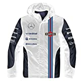 Williams Martini Racing Team 2-in-1 Jacket, Small White