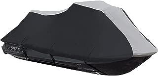 600 Denier Jet Ski PWC Cover fits Sea Doo Sea-Doo Bombardier RXP 2004 2005 2006 2007 2008 Black/Grey