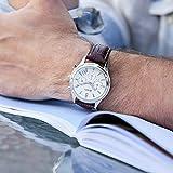Immagine 2 burei cronografo quadrante bianco orologio