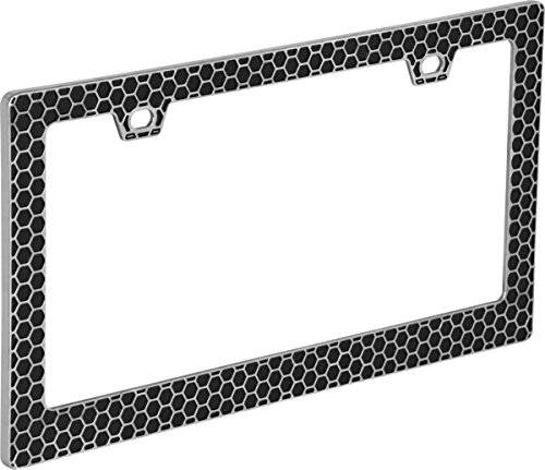 Bell Automotive 22-1-46708-8 Universal Hex License Plate Frame, Multi, One...