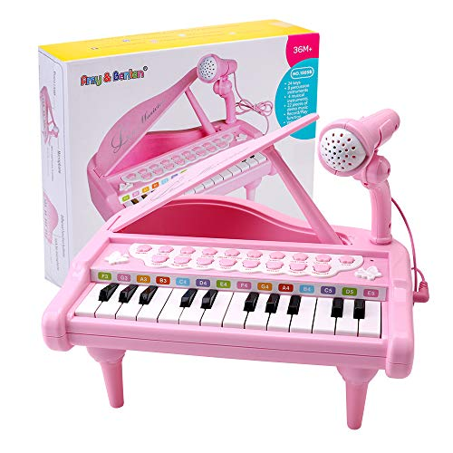 Multi-Function Electronic Keyboard Play Piano Organ Children Baby Toddler Early Educational Toy WILD COTTAGE Piano for Kids