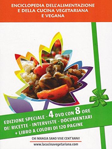 Enciclopedia dell'alimentazione e della cucina vegetariana e vegana(+booklet 120 pag.) [4 DVDs] [IT Import]