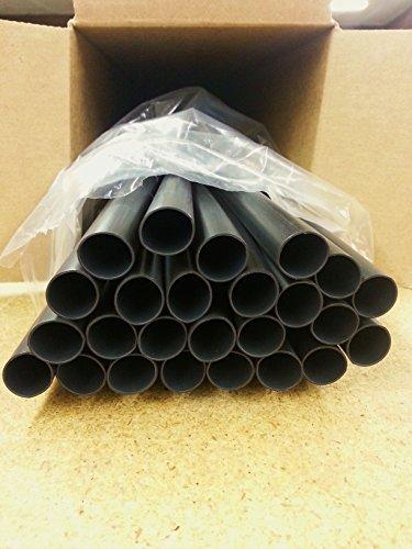 100 Feet Medium/Heavy Dual-Wall Adhesive Heat Shrink 1' Black 3:1 Ratio 4ft. x 25 pc.