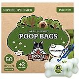 Pogi's Poop Bags - Bolsas para excremento de Perro + 2...