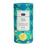 P & T Mint Julep, Master Blend de Té Verde Orgánico en Hebra a Granel, Mezcla de Té Verde Chino con Menta, Limón y Jazmín, Tarro con Estilo (90g / 3,2oz)