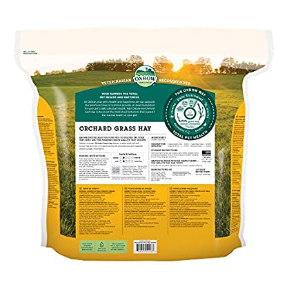 Petlife Oxbow Orchard Grass Hay for Small Pet, 1.13 kg 2